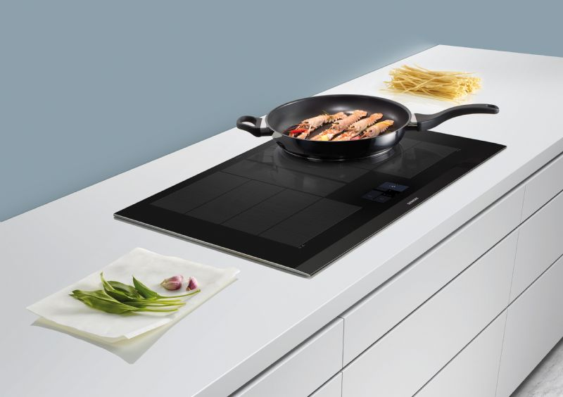 De flexInduction Plus inductiekookplaat van Siemens