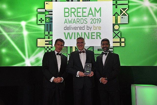 L-blok Falconhoven bekroond met BREEAM Award 2019
