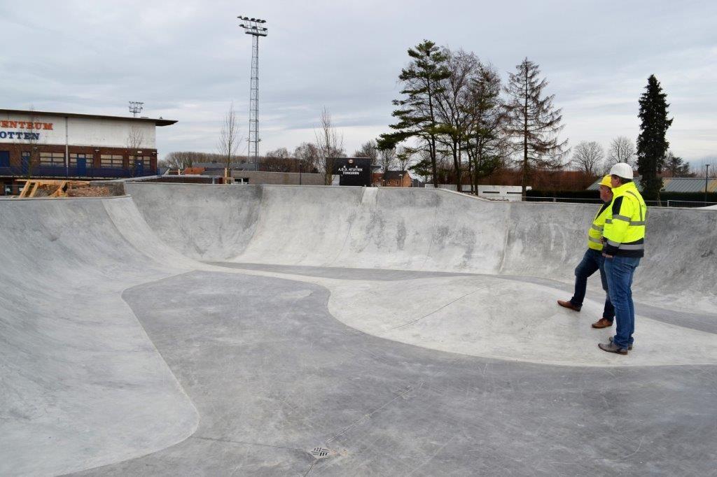 In het park is ook sportinfrastructuur voorzien, waaronder een gloednieuw skatepark.