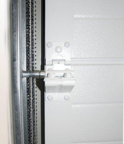 Sectionale poort SP800 COMPACTO scharnieren