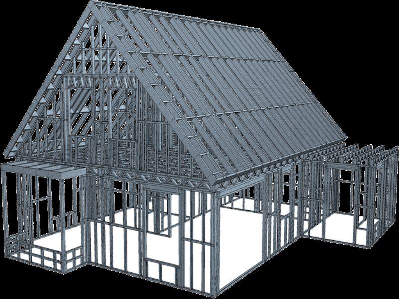 Voorbeeld van een 3D-visualisatie