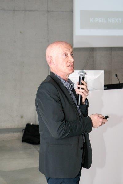 Energieconsulent en EPB-verslaggever Luc Dedeyne presenteerde op het BOX-congres een innovatief concept voor de beoordeling van gebouwschillen: het zogeheten 'K-peil next generation', ook wel het S-peil genoemd. (Foto: Renson)