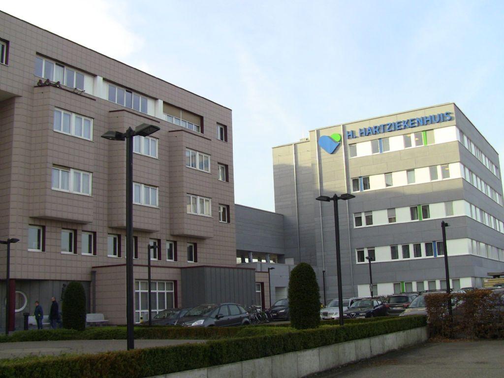De bouw van het gloednieuw volume van het Heilig Hartziekenhuis in Mol nam slechts 12 maanden in beslag.