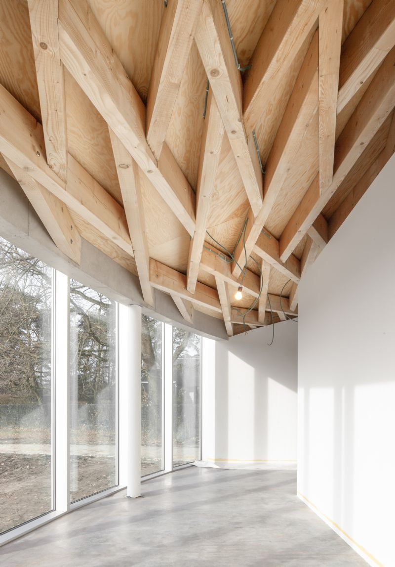 Nieuw paviljoen Frans Masereel Centrum, LIST, Hideyuki Nakayama Architecture