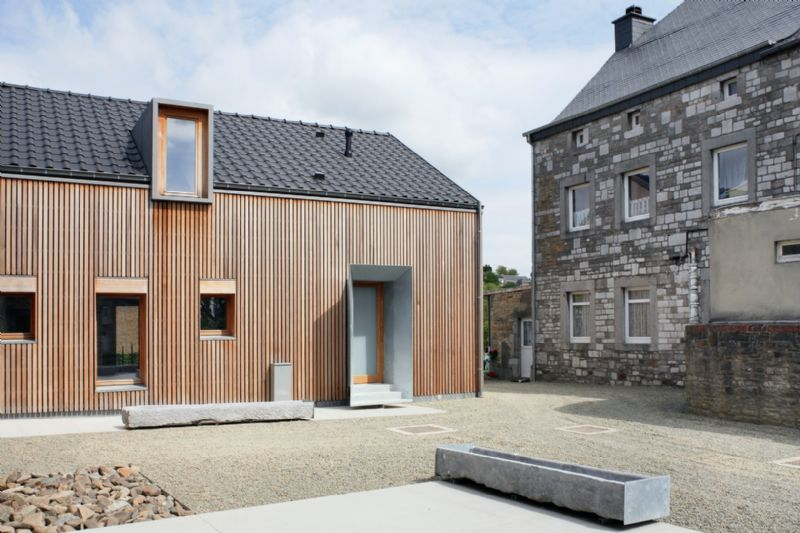 Logements sociaux à Anthisnes (Olivier Fourneau Architectes)