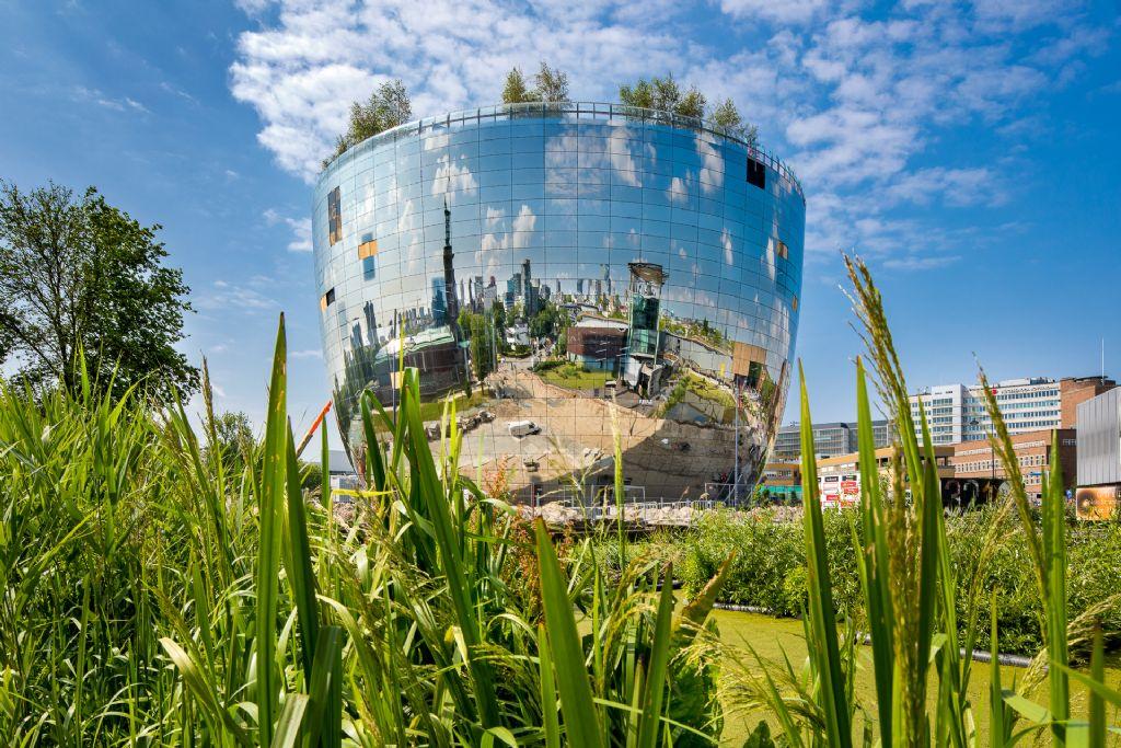Rotterdams museumdepot krijgt meer dan zomaar een groendak