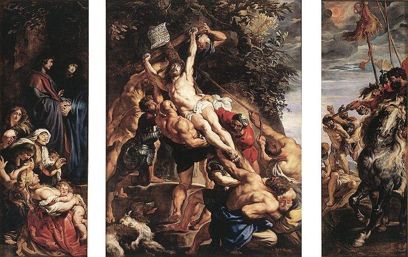 De Kruisoprichting van Rubens.