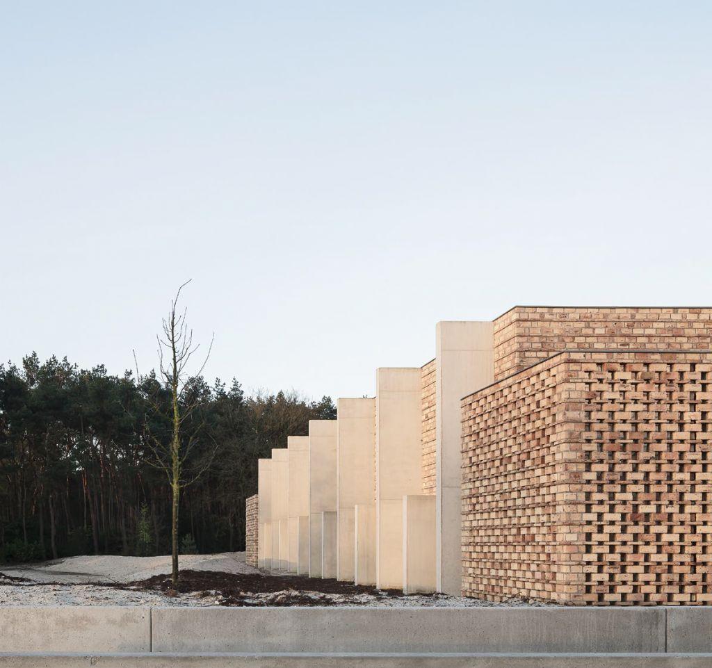 BIM en beton in crematorium Stuifduin