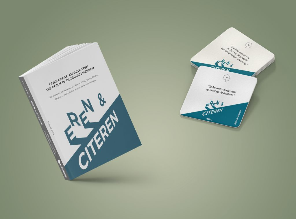 1.000 gratis exemplaren Eren & Citeren van Filip Canfyn voor bezoekers A@W