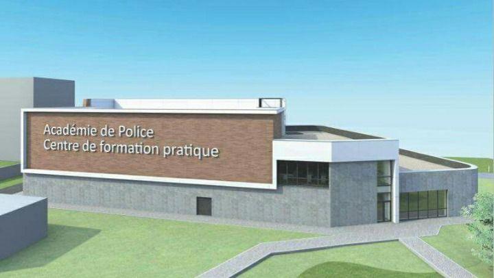 Nouveau centre de formation pour l'Académie de Police de Namur