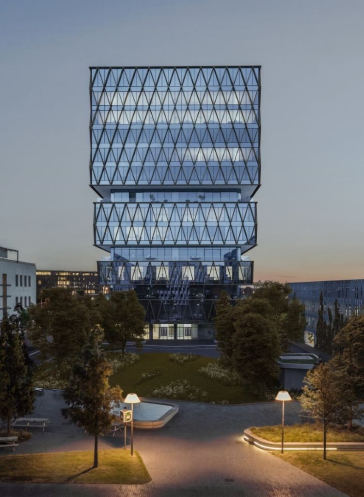Westwing Tower B2Ai maakt Westwing Park in Roeselare tot een groene hotspot