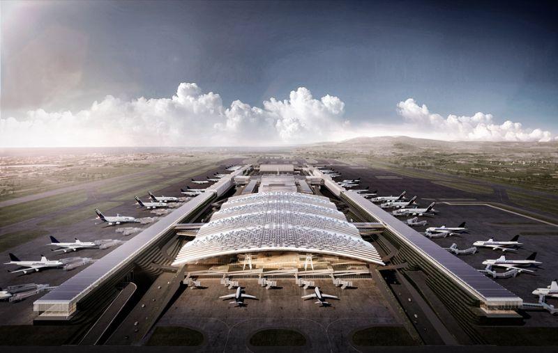Richard Rogers wint ontwerpwedstrijd voor Taiwan Taoyuan luchthaventerminal
