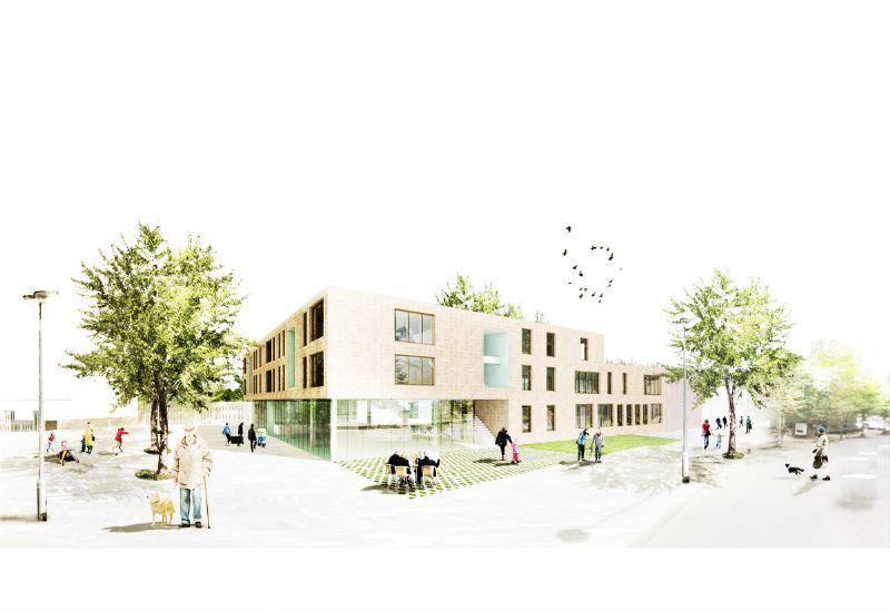 Veelaert Architecten plaatst Lepelhof in levendige buurt in Mortsel