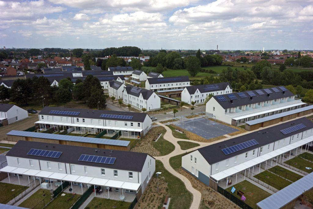 650.000 zonnepanelen op sociale woningen