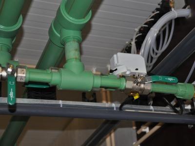 Voorbeeld van een inzending: biomassa-installatie met automatische debietregeling