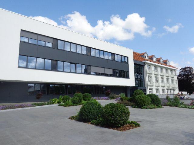 L'ancien (rénové) et le nouveau font bon ménage au Stadthaus d'Eupen
