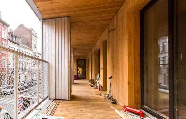"""""""Een project als Brutopia heeft een uitstekende invloed op de woonkwaliteit en de leefbaarheid in de stad,"""" meent architect Serge Fraas. (Foto: Olivier Anbergen)"""
