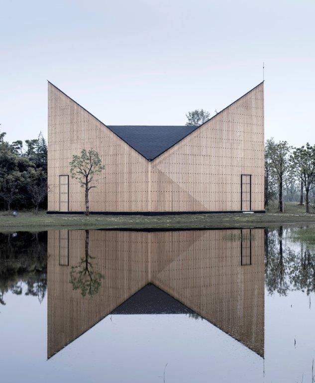 Mysterieuze expressiviteit in Chinese kapel