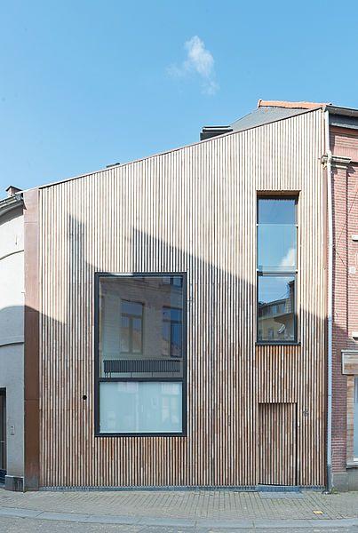 A façade unique, projet atypique