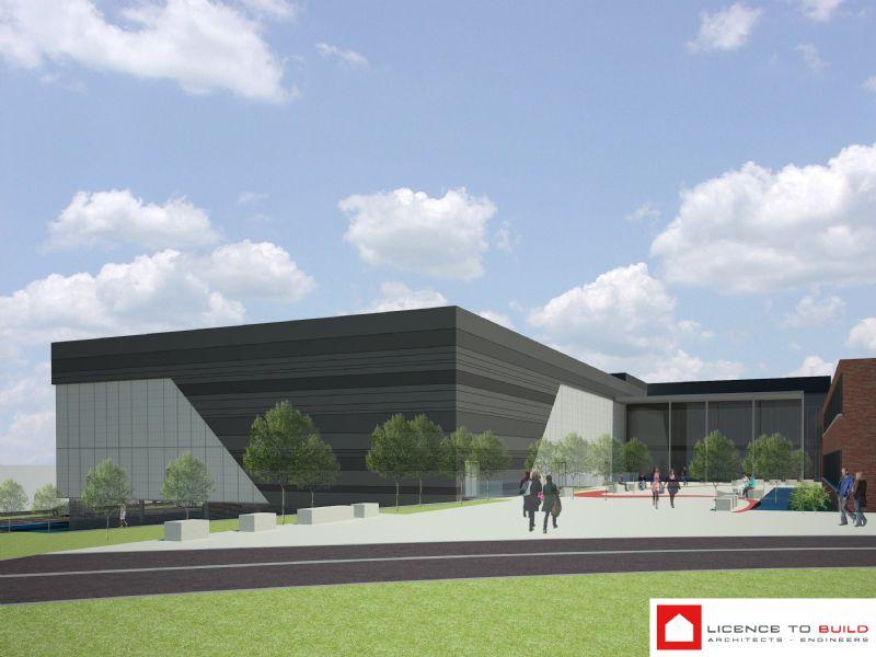 Indrukwekkend sportcomplex voor Britse school in Tervuren