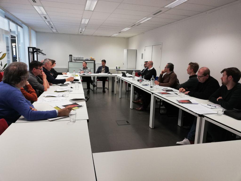 Delegatie Belgian Architects Declare op gesprek bij kabinet Zuhal Demir