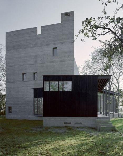 De woning du Fossé in Zuidzande is een realisatie van het Belgische architectenbureau Marie-José Van Hee Architecten