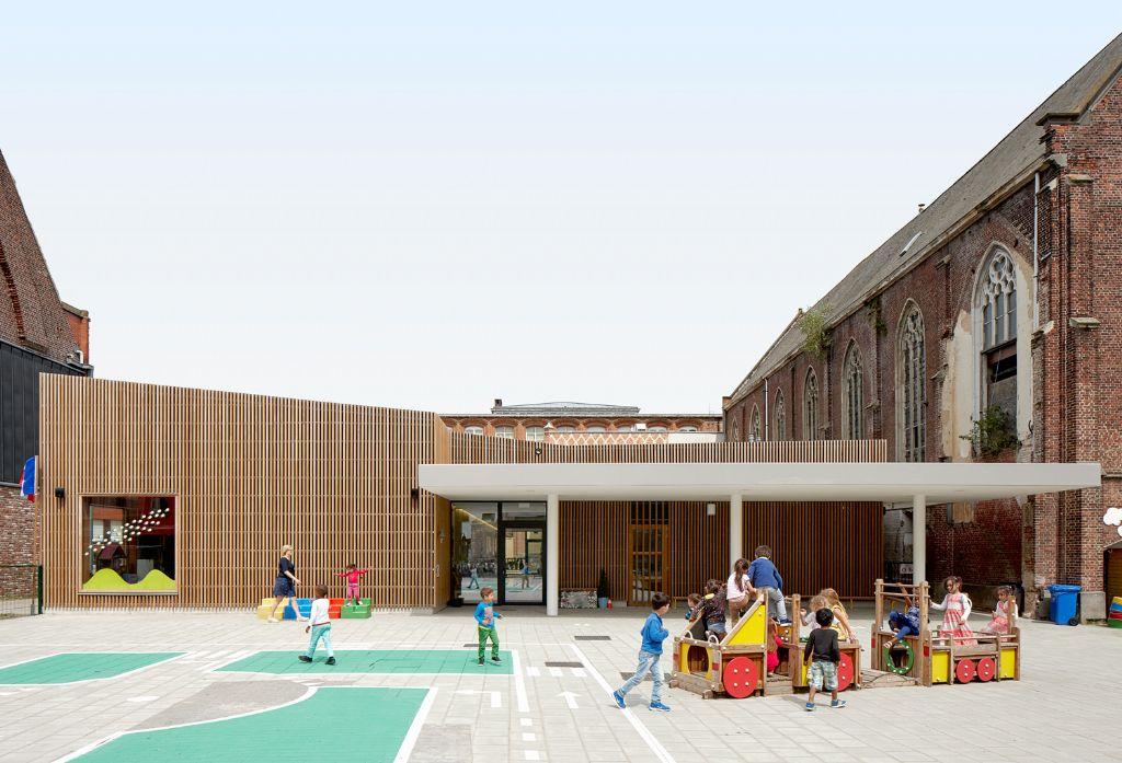 Kleuterschool Sint-Amandscollege © Dennis De Smet