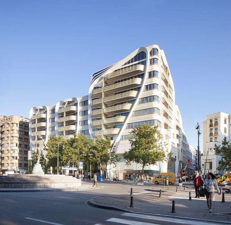 Le Toison d'Or à Bruxelles, nominé dans la catégorie « Best residential project » (UNStudio / Jaspers-Eyers Architects)
