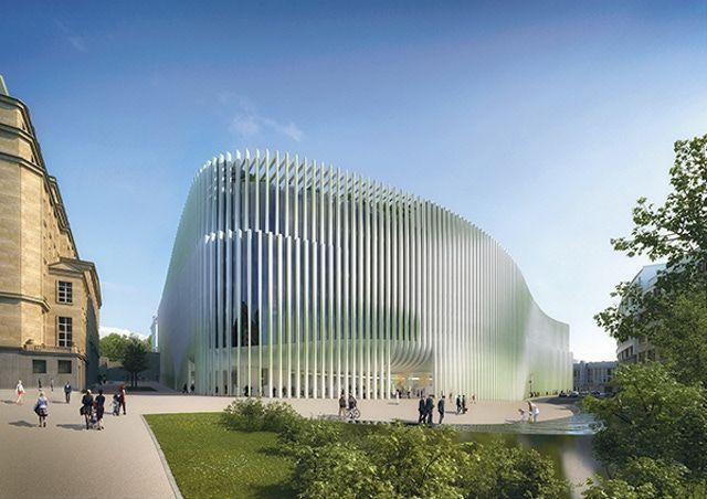 Ontwerp nieuwe hoofdzetel BNP Parisbas Fortis in Brussel