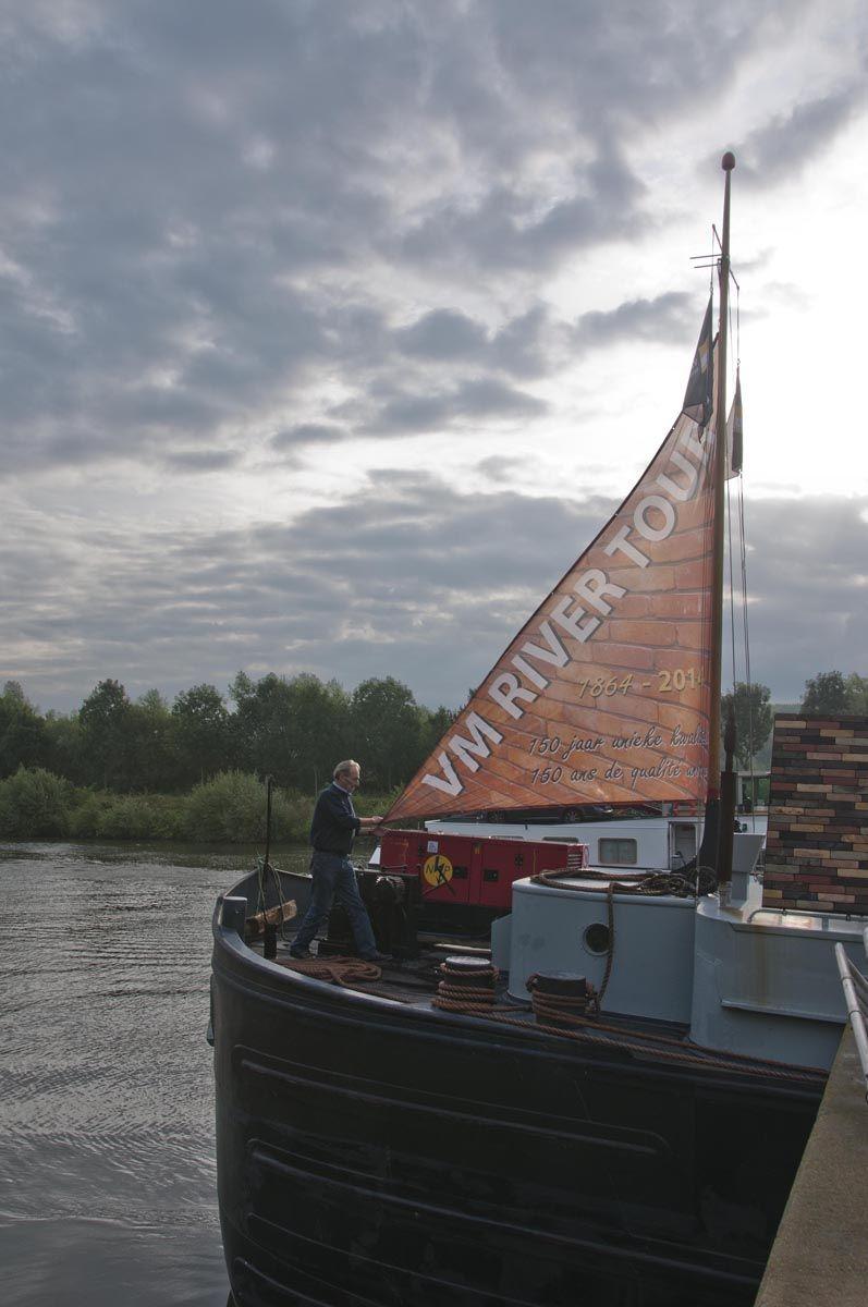 Vande Moortel adopteerde NOELLA om zijn jubileum te vieren met de River Tour.