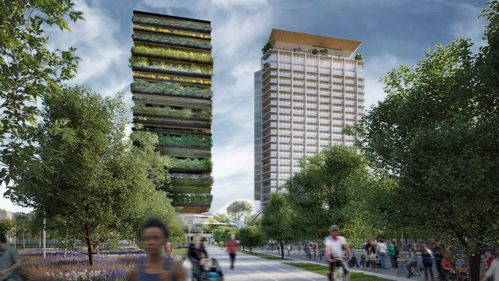 Diller Scofidio + Renfro en Stefano Boeri Architetti blazen nieuw leven in Pirellino-wolkenkrabber in Milaan