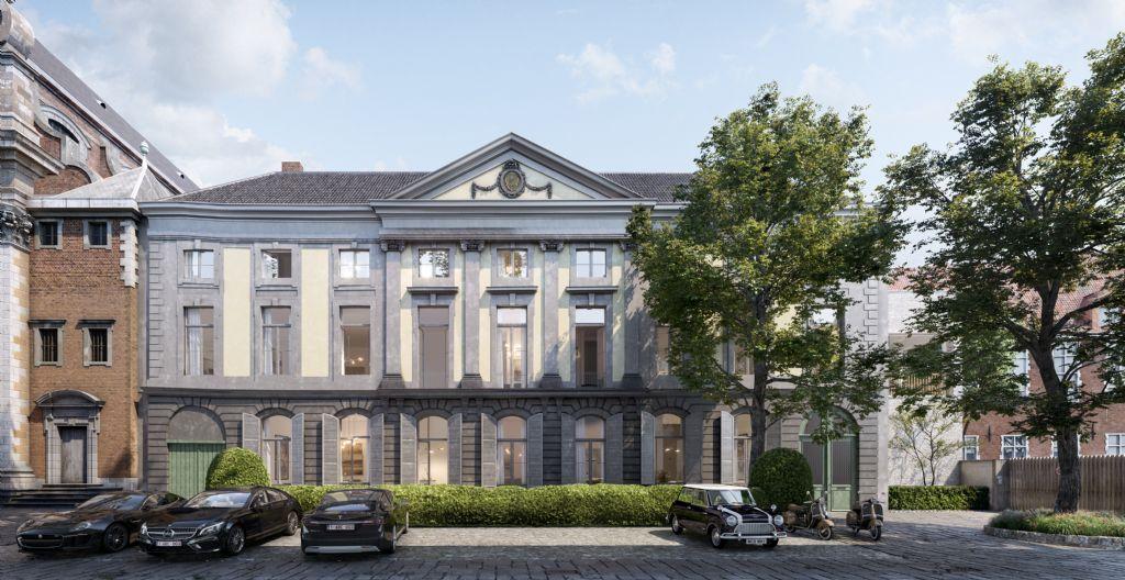 Huis van Hamme in Brugse binnenstad herbestemd tot meergezinswoning door aNNo architecten