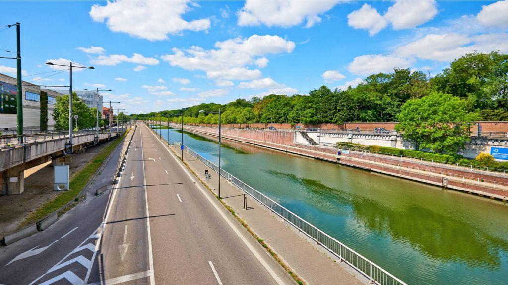 Team plusoffice architects - Arcadis wint contract voor masterplan knooppunt Van Praet in Brussel
