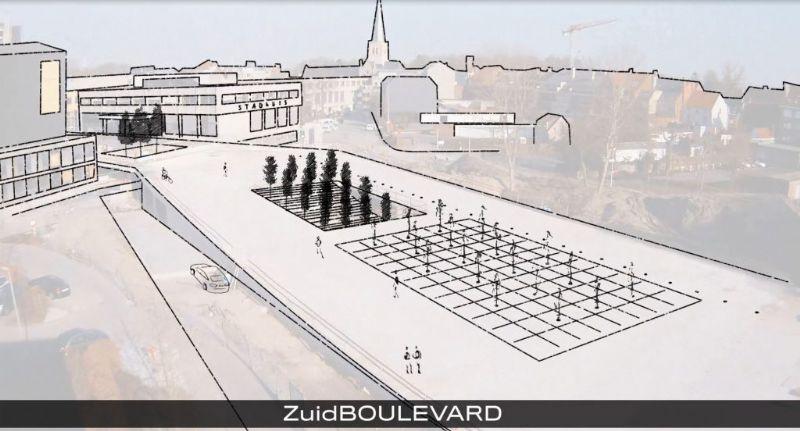 Zuiderpromenade is de nieuwe toegangspoort tot stad Waregem