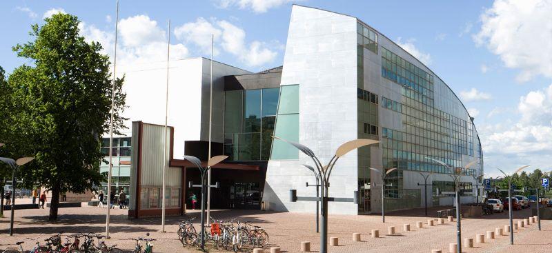 Het Kiasma Museum in Helsinki, een van Holls projecten.