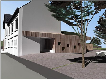 AG SOB Gent renoveert voormalig stationsgebouw tot kinderdagverblijf