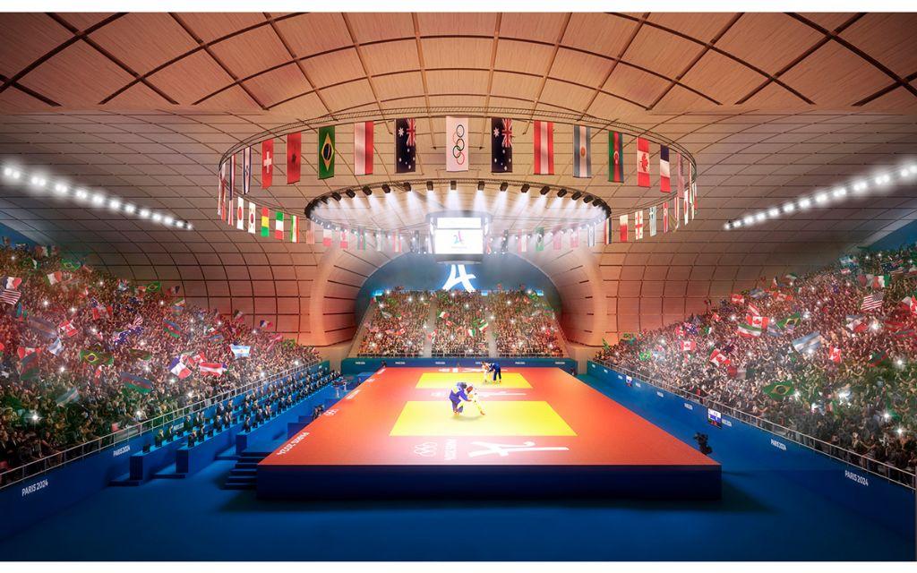 Avant son démontage, le Grand Palais éphémère accueillera des compétitions des JO 2024.