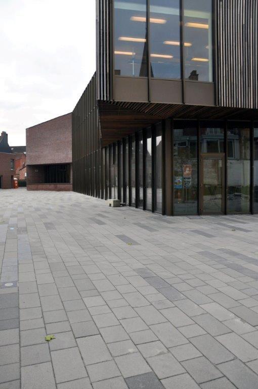 CC Servaassite in het centrum van Diepenbeek (De Gouden Liniaal Architecten).