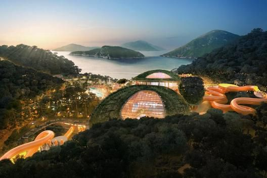 Water Park, Hong Kong, China. Aedas.
