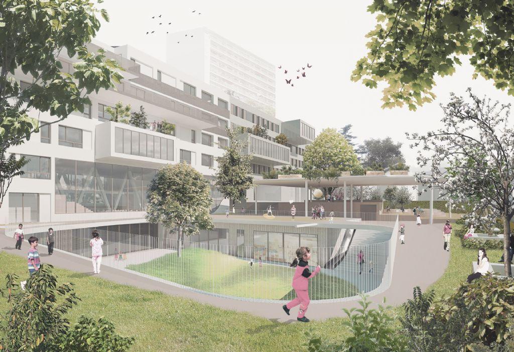 Werken gestart aan Campus Mutsaard van LOW architecten