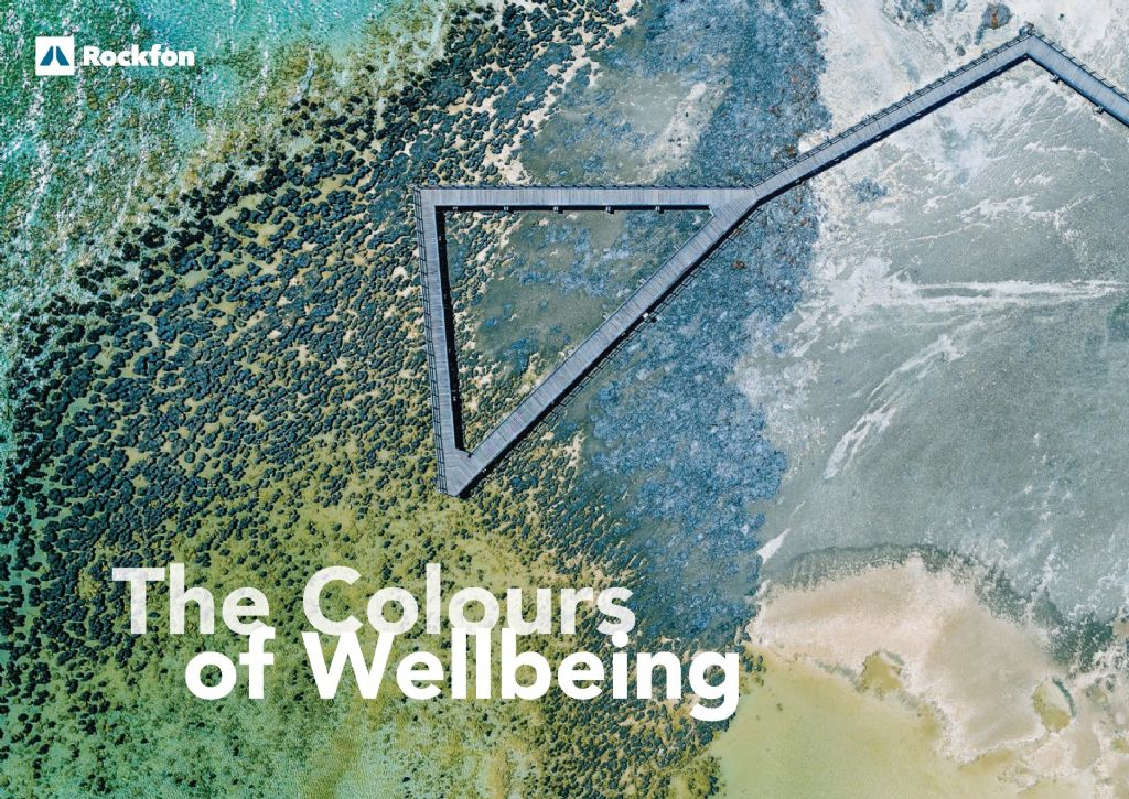 The Colours of Wellbeing: het effect van kleur op het plafondontwerp
