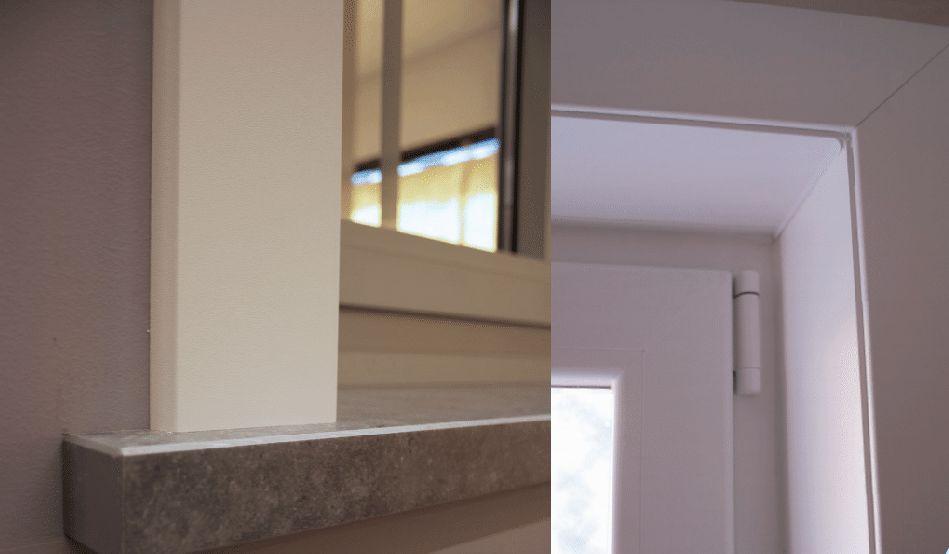 Matériaux massifs pour finitions intérieures de portes et fenêtres