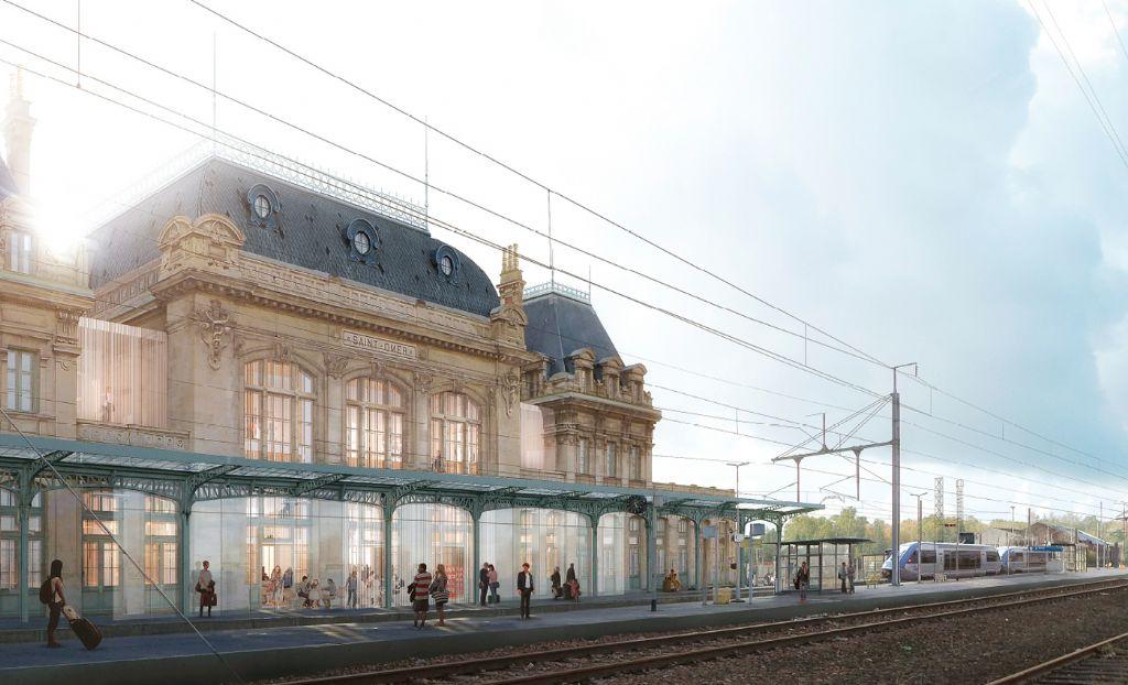 A Saint-Omer, La Station fait revivre l'ancienne gare