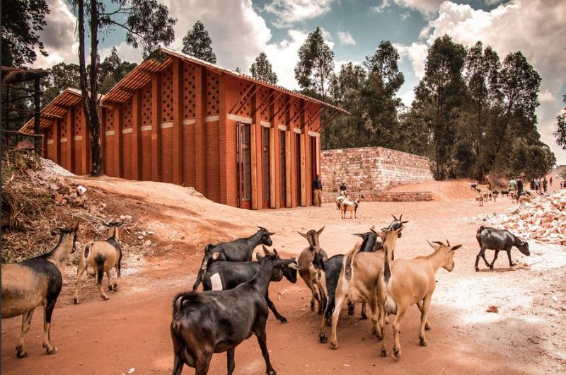 Library of Muyinga - BC Architects