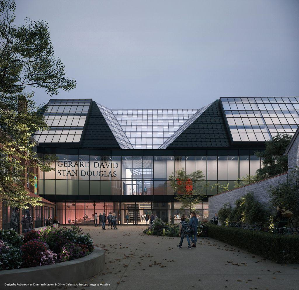 Ontwerp: Robbrecht en Daem architecten en Olivier Salens architecten
