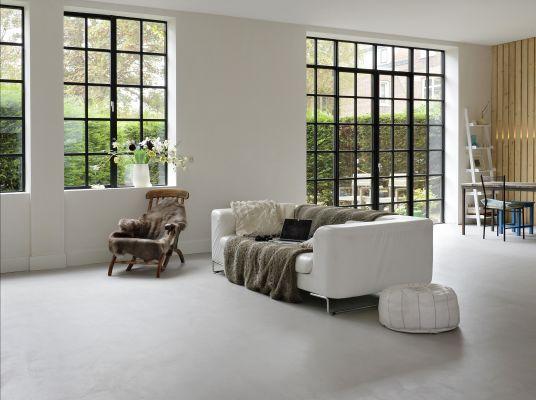 Forbo présente BetonDesign : sols et murs avec aspect béton basique