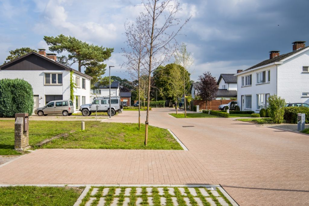 Réaménagement Zilverberkstraat – Leeuwerikstraat à Turnhout, vainqueur de la catégorie Precast in Infrastructure.