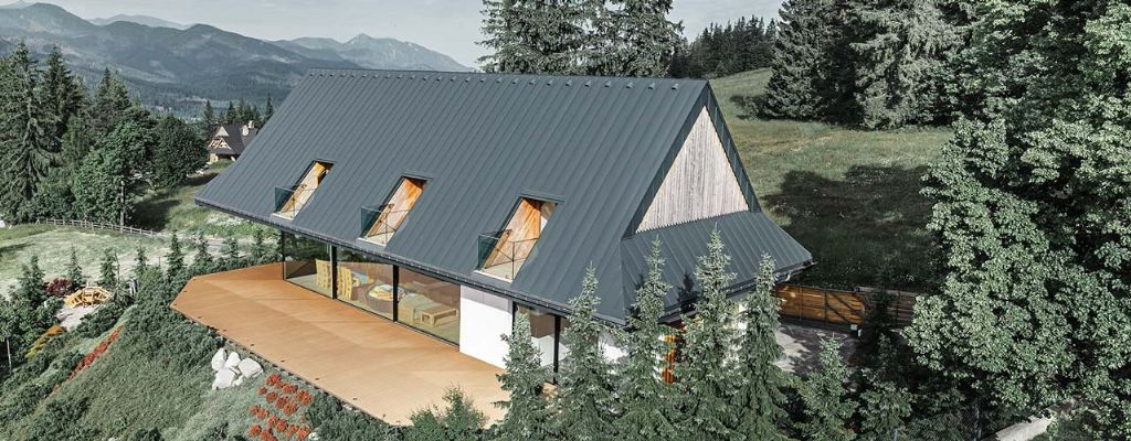 Le toit flottant de Zakopane