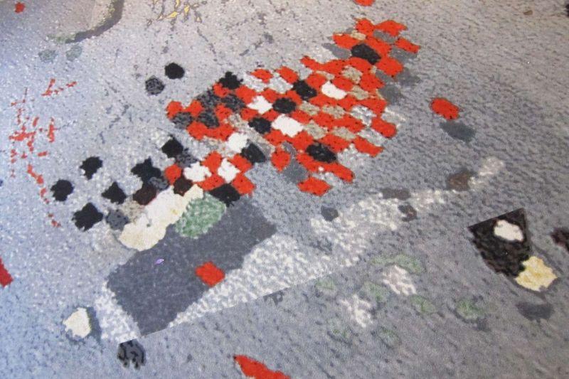 Een tapijt, ontworpen door Doorzon.