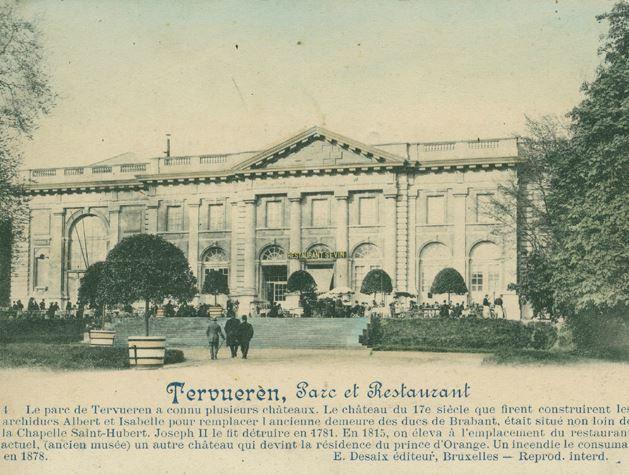 Het Congomuseum herbergt een restaurant. Vroeger noemde het Restaurant Malin, in 1908 veranderde de naam in Restaurant Sevin. Nadien werd het La Grande Laiterie. Het gebouw wordt door bepaalde mensen nog steeds zo genoemd.